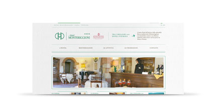screenshot di hotelmonteriggioni.it